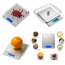 Digital Scale 3kg x 0.1g Kitchen Food Gram Electronic Weight Pocket Stainless