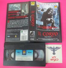 VHS film IL CORVO The crow 1994 Brandon Lee TATUAGGIO ORIGINALE (F172) no dvd