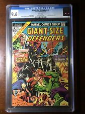 Giant-Size Defenders #2 (1974) - Hulk! Sub-Mariner! - CGC 9.6! - White Pages!