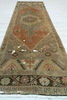 "Anatolia Carpet Runner Rug, Hallway Rug, Long Carpet, Corridor Wool Rug 31""X101"""