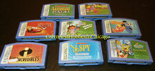 8 Lot Leapfrog Leapster Educational / Game Cartridges + Link to 50 More Titles