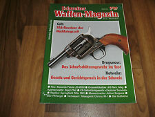 SCHWEIZER WAFFEN MAGAZIN  9/1989 -- DRAGUNOW: Scharfschützengewehr im Test