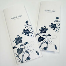 Floral Orchestra Personalized Wedding Programs 24/pk