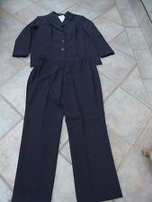 Damen Anzug Hosenanzug Anzug Kombination Sakko Blazer blau Gr. 50 kurz größe 25