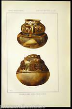 Print 126 Antique POTTERY Vase TUSAYAN Pueblo Indian