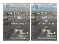 2 Vol Guide de Navigateur SHOM Documentation & Méthode Instruments NAVIGATION