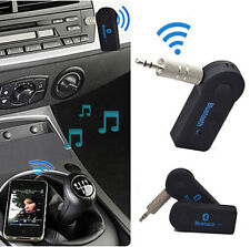 Wireless Bluetooth V3.0+EDR 3.5mm Stereo Phone To AUX Car Stereo Music Receiver