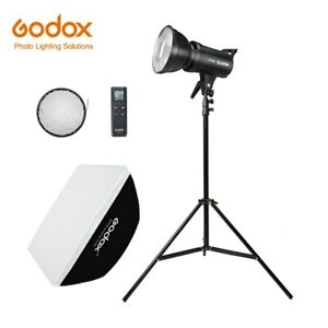 Godox LED Light SL-60W Video Light Continuous Light Kit +  Light Stand + Softbox