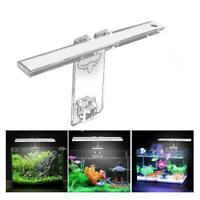 LED Aquarium Fish Tanks Lampe Pflanzenleuchte Für 3-8MM Dicke Halterung Licht