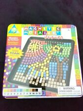 Magnetic mosaics Junior. 1000 foam magnets. Mosaics by number. Ages 5 & up. Art