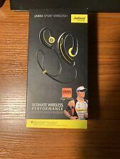 Jabra Sport Wireless Plus+Bluetooth Stereo Headphones Headset Black Yellow