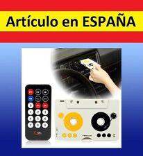 MANDO DISTANCIA Adaptador CASSETTE coche reproductor mp3 mp4 ipod casete casette