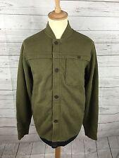 Men's Timberland Zipped Sweater - Size Medium - Green - Great Condition