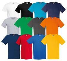 Fruit of the Loom V Neck Singlepack T-Shirts for Men