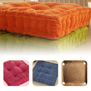 Square Cushion Patio Tatami Meditation Mat Seat Pillow Thicken Yoga Floor Pad
