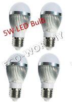 4*5W 20W 110-220V AC E27 450Lm LED Bulb Lamp Light For Garden Home Office