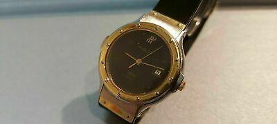 Orologio Hublot Mdm Geneve Quartz Date Watch S 139 10 2 Acciaio/oro-gold/stell!!