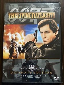 007 James Bond The Living Daylights 📀.Free Postage. 2 Disc Set.