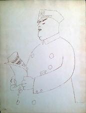 Policeman by Ben Shahn
