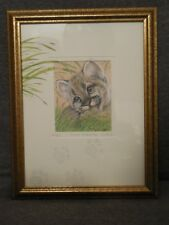 "Julie Peelen ~ Florida Panther Kitten ~ Signed Numbered #405/850 ~ 13.5"" x 10.5"""