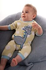 MUD Pie Lil Buddy GIRAFFE Sleepsuit / romper / TUTTO IN UNO