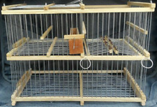 Wooden Trap Cage  for Birds, Crows / Repeating Action, DIM 38 Cm / 28 Cm / 21 Cm