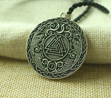 Viking Valknut Celta Crow pendanorse carta collar