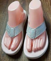 Spenco Women's Cheetah Print Raised Flip Flop Sandals Pink Size US 7 B