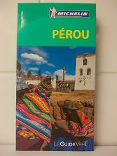 Guide Vert Pérou Michelin