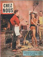 ▬►CHEZ NOUS 18 (03/05/1962) JAMES DEAN_J.F PORON_JEAN TISSIERLIONEL CRABB_MODE