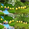 10Pcs Easter Party Mini Chicken Ornaments Resin Fairy Miniature Garden SceAB