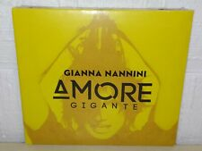 GIANNA NANNINI - AMORE GIGANTE - GIALLO - CD