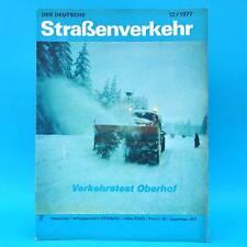 Der Deutsche Straßenverkehr 12/1977 Oberhof Ungarn Skoda Mokick S 50 Shiguli F