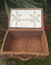 Wicker Vintage/Retro Decorative Baskets with Lid