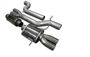 Verrohrung Abgasanlage Auspuff Audi S4 RS4 B5 90mm Edelstahl 2,7T