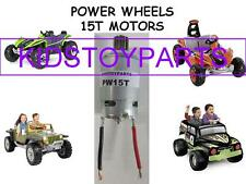 One New 12-18 VOLT Power Wheels 15T Motor Hurricanes Stingers Dune Grave Diggers