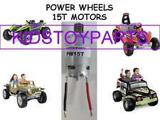 1x 12-18 VOLT Power Wheels 15T #7R Motor Hurricanes Stingers Dune Grave Diggers