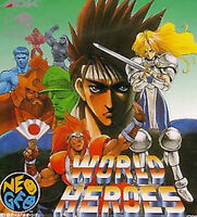 World Heroes SNK NEO GEO CD AES Import Japan NCD  1 NCD