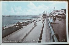 Brighton, The Promenade Lift & Lawns Kings Cliff. Old J. Welch # 3778 Postcard