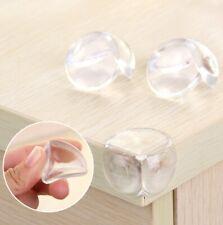 10 PCS Rubber Clear Furniture Corner Edge Table Cushion Guard Protector Pads
