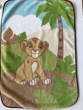 Disney Baby Simba Lion King Plush Blanket Crown Crafts