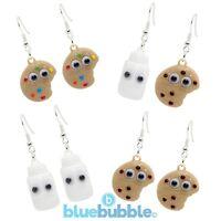 Bluebubble BFF Earrings Cute Googly Eyes Kitsch Kawaii Cool Retro Funky Fun Food