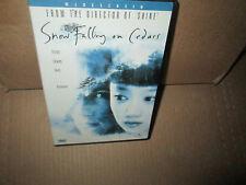 SNOW FALLING ON CEDARS rare dvd SAM SHEPARD Richard Jenkins ETHAN HAWKE 1999