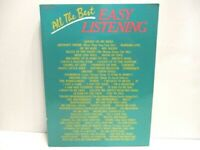 All the Best Easy Listening Song Book Piano and Vocal Soft Cover