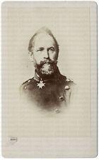 Wilhelm von Tümpling, General d. Infanterie, frühe Original CdV um 1865