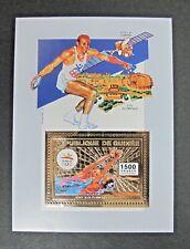 Republique De Guinée Sport 1500F Gold Sheet MNH