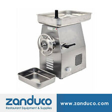 Omcan Commercial #32 Italian Stainless Steel Meat Grinder with 3 Hp Mg-It-0032-C