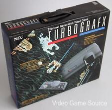 NEC PC ENGINE TURBOGRAFX KONSOLE + 5 GAMES (J.J. & JEFF, GALAGA '90, etc.) *NEU!