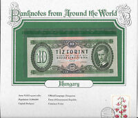 World Banknotes Hungary 10 Forint 1969 UNC P 168d  A403  Low serial 010660