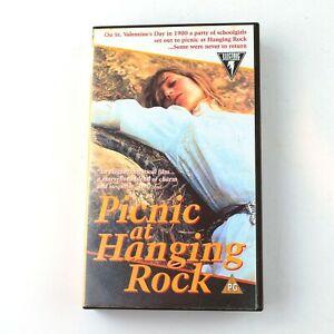 PICNIC AT HANGING ROCK (VHS, PAL Format) Peter Weir, Rachel Roberts : Tested